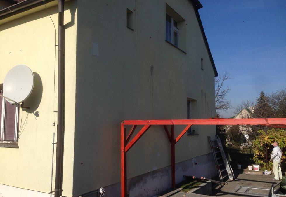 Nátěr fasády Praha 9