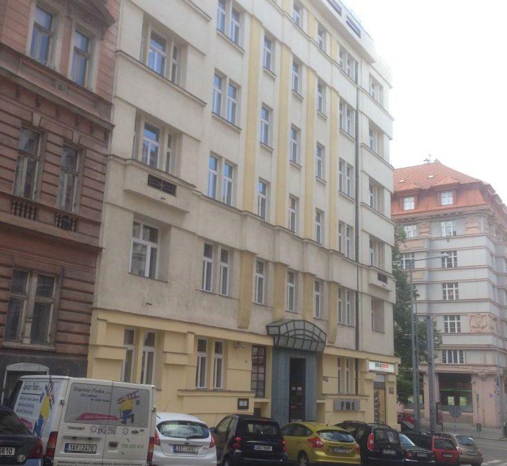 Trade centre Praha lakování oken