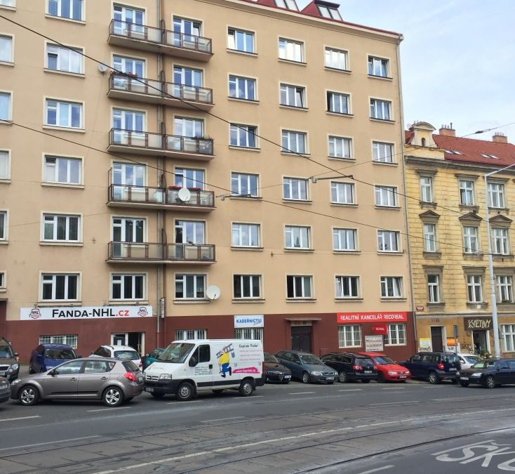Variopaint bytový dům Táborská Praha