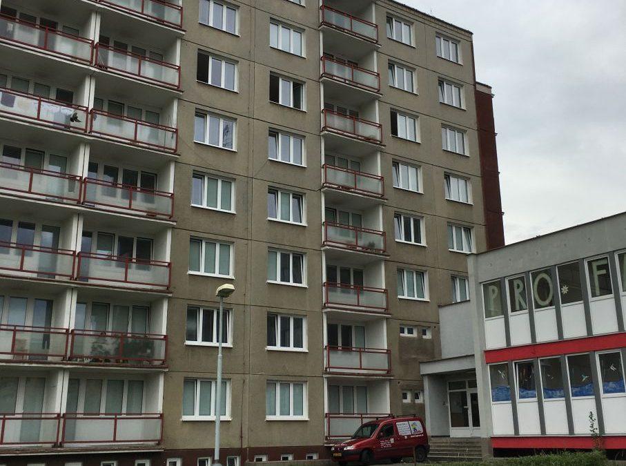 Malování pokojů ubytovny Ministerstva vnitra