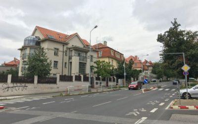 Malování bytového domu Benešovská