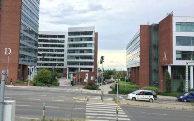 Office park Butovice nátěr fasády