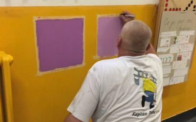 Základní Škola Slovenská 27 malířské práce