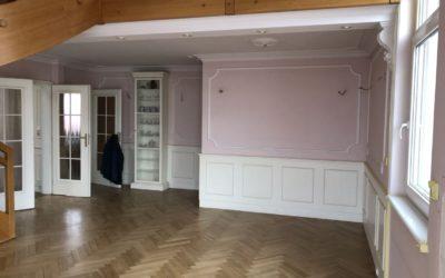 Malířské práce luxusního bytu