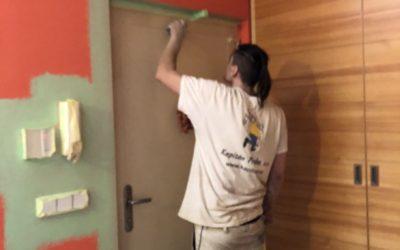 Malování Mezonetového bytu