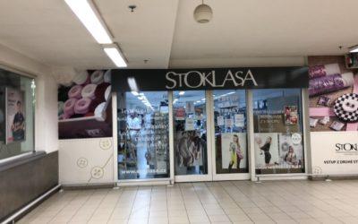 Malování prodejny Stoklasa Skalka