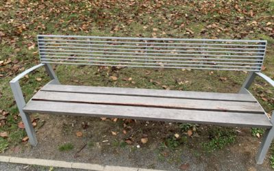 Nátěr laviček Kormidelnická ulice