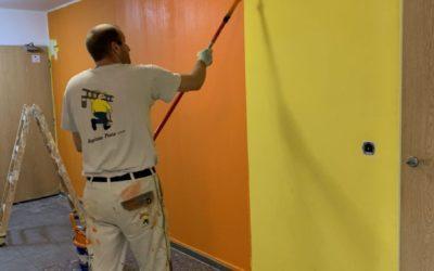 Belárie Park Modřany malířské práce pro SVJ