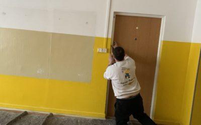 Malířské a lakýrnické práce pro SVJ Paláskova